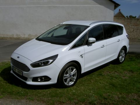 Ford S-MAX 1,5 EcoBoost Titánium,TOP stav